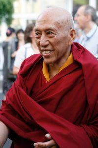Samdhong Rinpoche war von 2001 bis 2011 Premierminister der tibetischen Regierung im Exil. Gandhi ist sein Vorbild. Foto: Nagels