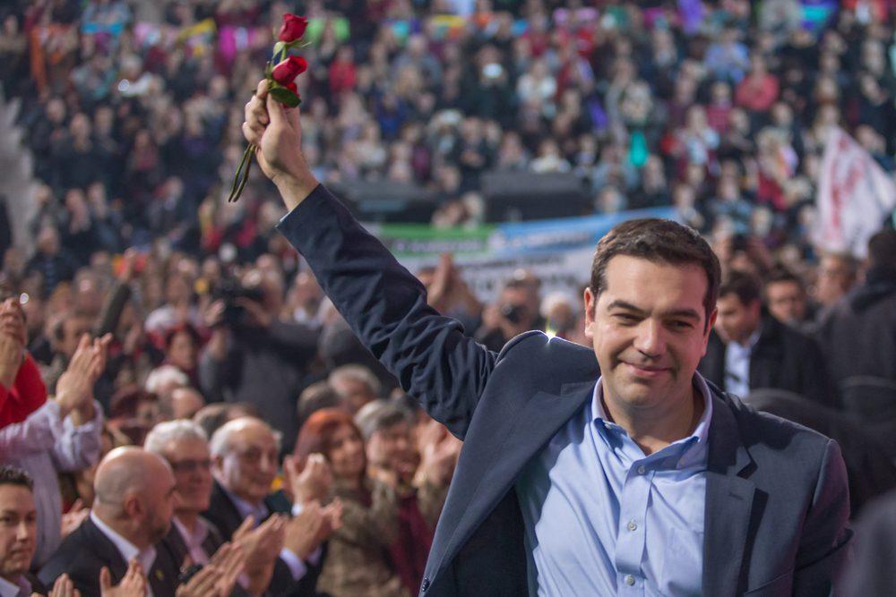 Tsipras kämpft für die Freiheit