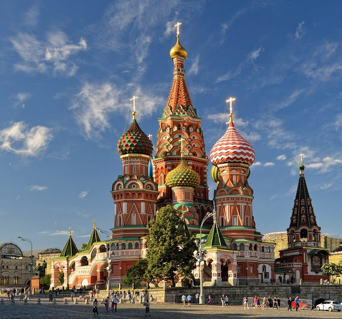 Russland gehört zu Europa