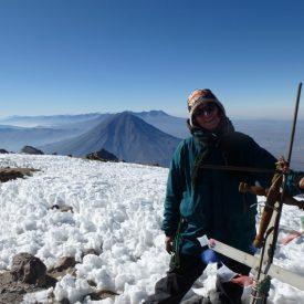 Kirsten Baumbusch in Peru