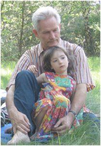 Christoph Hatlapa mit Kind