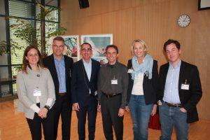 Referenten: Dr. Britta Hölzel, Rüdiger Standhardt, Justus Ludwig, Andreas Mohr, Angelika von der Assen, Chris Tamdjidi (Foto: Henning Löhmer)