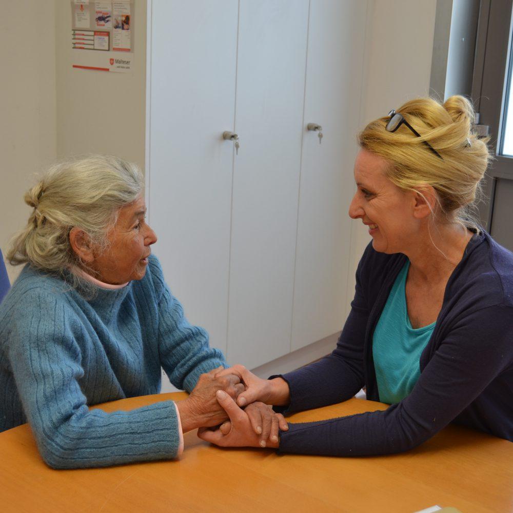 Hilfe bei Altersarmut