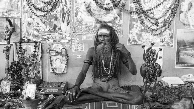Indische Sadhus
