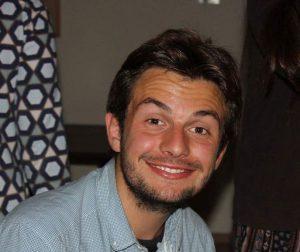 Julian von Weyhe, 20, Teilnehmer bei project peace.