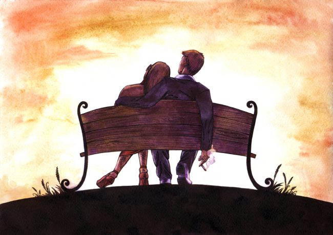 Nachdenken über die Liebe