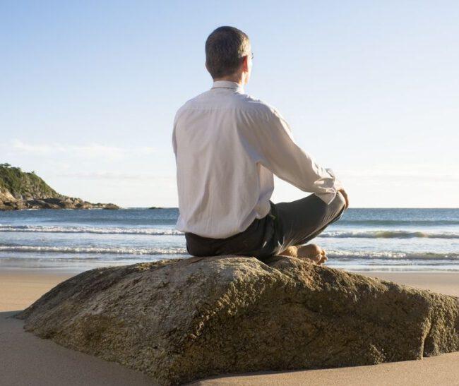 Wenn der Chef meditiert