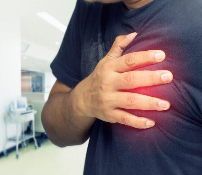 Herzprobleme durch Stress