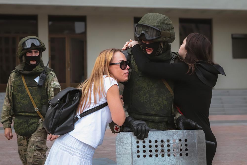 """""""In Belarus haben wir eine feministische Revolution"""""""